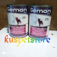 Dogfood Kaleng GEMON Beef & Liver Adult 415gr- Makanan Anjing Basah