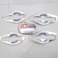 cover outer handle mangkok pintu rush terios chrome model baru