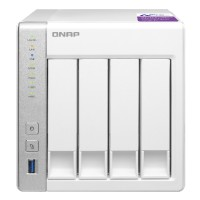 QNAP - TS - 431P - 4 Bay NAS Server Bundle with Ironwolf HDD