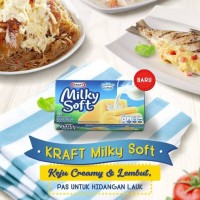 Kraft Milky Soft 165gr / keju cheddar / 165 gr / cheese filling
