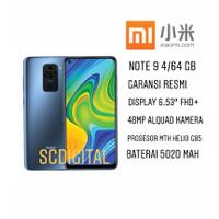 Xiaomi Redmi Note 9 4/64 GB Garansi Resmi