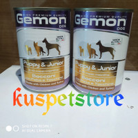 Dogfood Kaleng GEMON Puppy & JuniorTurkey 415gr- Makanan Anjing Basah