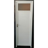 PINTU KAMAR MANDI WC TOILET ALUMUNIUM KACA ICEPOL