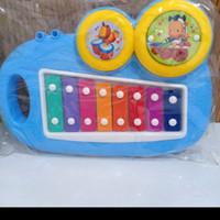 mainan xylophone kantong / mainan anak anak