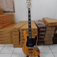 gitar bass listrik murah fender jazzbass glossy bandung