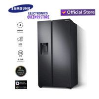 KULKAS SIDE BY SIDE SAMSUNG RS64R5141B4 SpaceMax™ Technology BLACK