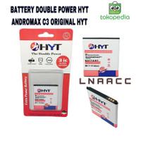 BATTERY DOUBLE POWER ANDROMAX C3 ORIGINAL HYT