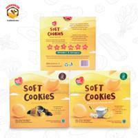 Nayz Soft Cookies Banana Cheese Milk Nat Berry 120gr