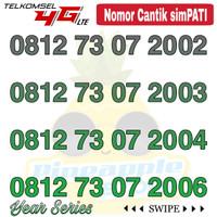 Nomor Cantik Simpati telkomsel 4G LTE seri tahun 2000an