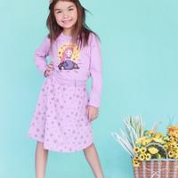 dress anak perempuan princess lucu