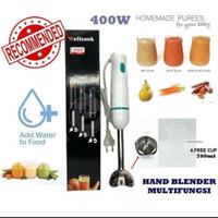 Hand Blender WK-1702 Multifungsi Good Quality Praktis