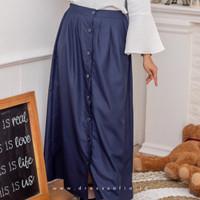 Korean Button Skirt