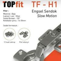 engsel Sendok Lurus hidrolis/slowmotion TOPFIT by TACO
