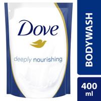 Dove Body Wash Deeply Nourishing Sabun Mandi Cair Refill 400 ml