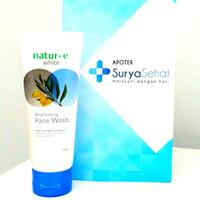 Natur-E White brightening serum 15ml - Face Wash 50ml - Day Cream
