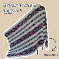 Kain_Usang | Tenun Blanket Halusan ZB6 | Kain Tenun Etnik | Tenun Ikat