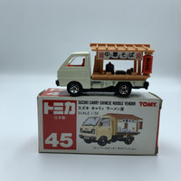 Tomica 45 Suzuki Carry Chinese Noodle Vendor made in Japan
