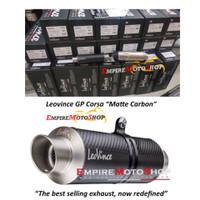 Knalpot Leovince GP Corsa Carbon Matte Silencer Only