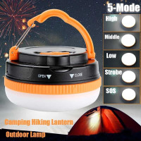 Lampu Tenda Kemping Outdoor Model Bakpau Bakpao