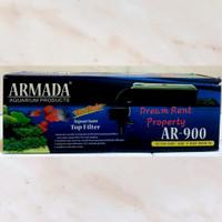 1 set Aquarium Box Top Filter Akuarium + Pompa Armada AR-900 900