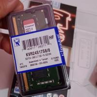 Ram laptop ddr4 8gb pc4 2400t 2400mhz Kingston