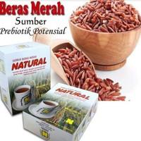 serbuk beras merah nasa 500gr/SBMN serbuk minuman diet