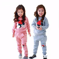 SETELAN SWEATER Anak Minnie 1 - 8 Tahun Baju Baju Anak Perempuan
