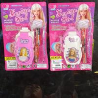 mainan hp barbie baterai