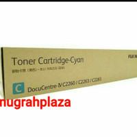 TONER PRINTER FUJI XEROX C2260-2263-2265-CT 201435 CYAN ORIGINAL