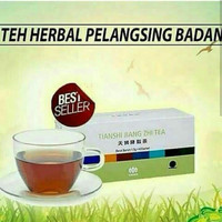 SALE Obat PELANGSING TUBUH HERBAL Jiang Zhi Tea/Teh Hijau Detox