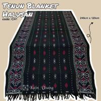 Kain_Usang | Tenun Blanket Halusan CH1 | Kain Tenun Etnik | Tenun Ikat
