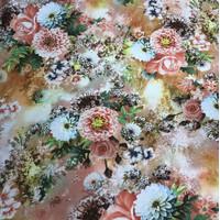 kain jersey motif bunga salem