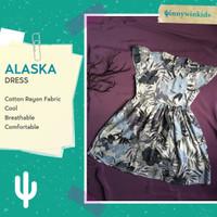 [WinnyWinkids] Alaska Floral Summer Dress - baju anak