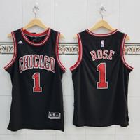 Baju Jersey Basket NBA Swingman Derrick Rose Chicago Bulls
