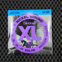 DAddario EXL115 - Senar Gitar Elektrik 011 - 049 Original USA
