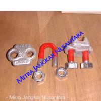 "Wire clip HD / Klem Seling / Kuku Macan Uk 3/8"" (10MM)"