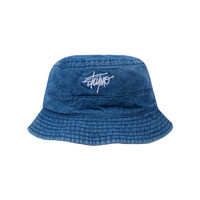 SKYMO APPAREL BUCKET HAT STONE LIGHT BLUE