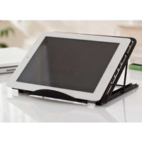 Dudukan Portable Laptop / Tablet Stand Adjustable