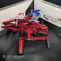 Underbone Footstep Satria 150 FU All New Injeksi GSX KTC Forza Variasi