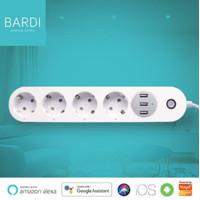 BARDI Smart Extention Power Strips - Colokan Listrik Stop Kontak Wifi