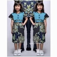 Dress Batik Anak Perempuan Usia 2-6th Lily Hitam
