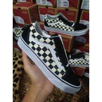Vans Oldskool Primary Checkerboard Black White Original