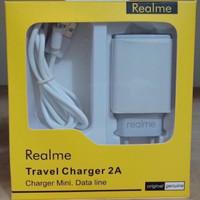 Travel charger realme ori 99% 2.A REAL kwalitas baguss