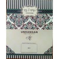 Blanko undangan pernikahan terbaru Erba 88211