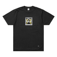 SKYMO APPAREL TSHIRT STAY HOME BLACK