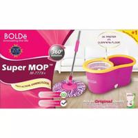 Alat Pel Super Mop BOLDe M-777X+ (Botol + Lubang Drainase) - Asli - Su