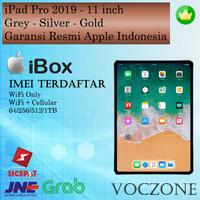 Garansi Resmi IBOX iPad Pro 2018 11 WiFi & WiFi+Cellular 64GB 256GB