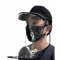 Topi Anti Virus Corona Dewasa + Faceshield