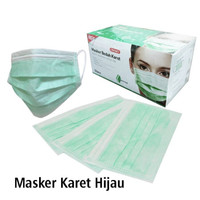 Onemed Masker Bedah Karet 3Ply Earloop (Segel)
