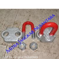 "Wire clip / Klem Seling / Kuku Macan Uk 1"" (24 MM)"